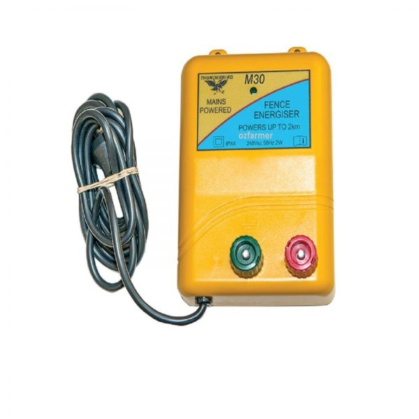 2km mains electric fence energiser nm30