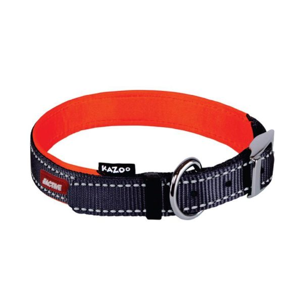 Kazoo Active Collar Slate Orange
