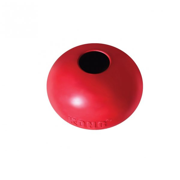 Kong Ball red show hole