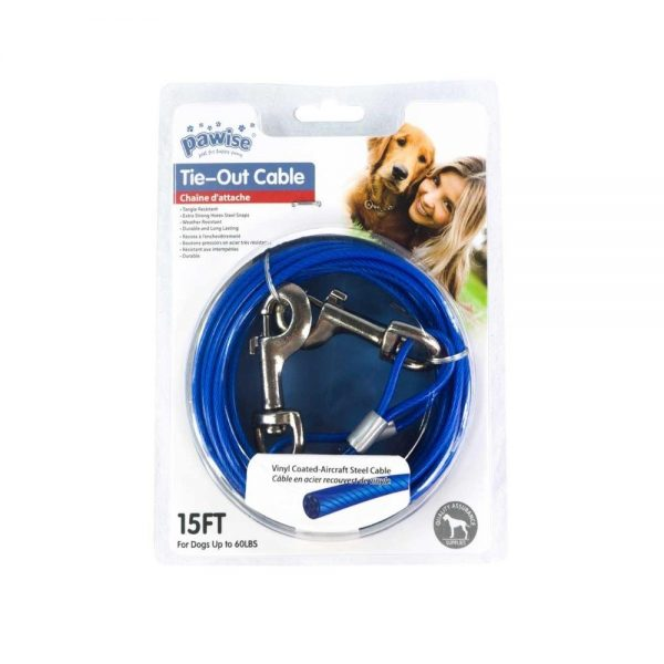 Tie Out cable 15ft pawise