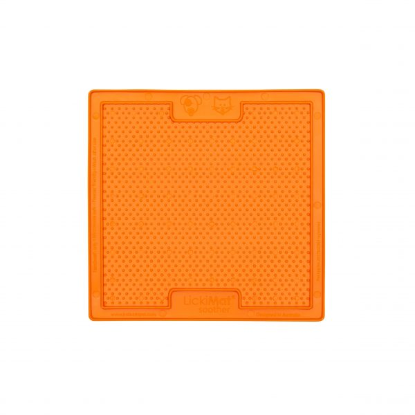 Lickimat soother classic orange 1