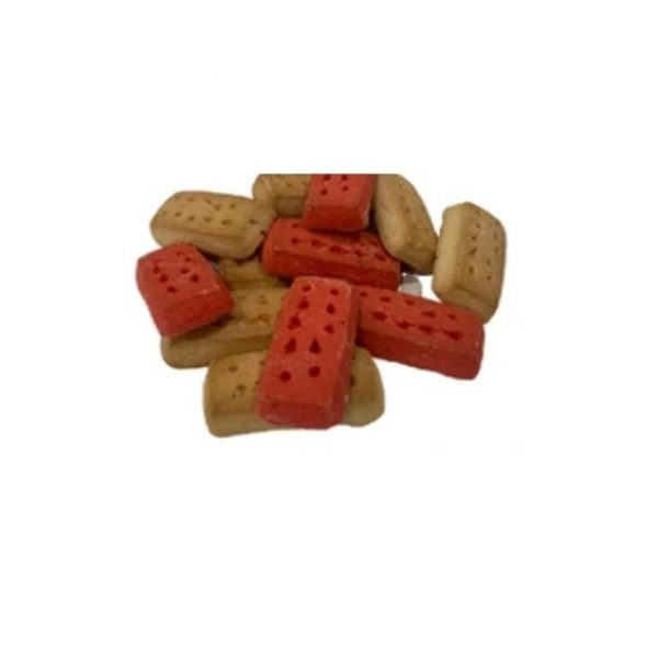 Petrite Biscuits with red