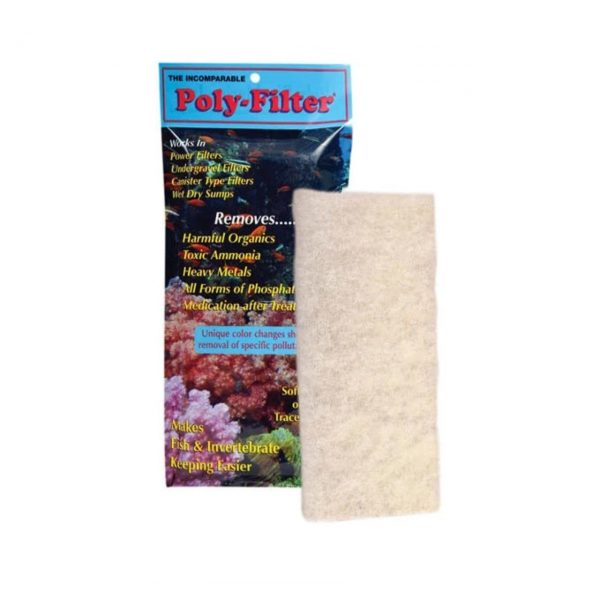 Poly filter pad small