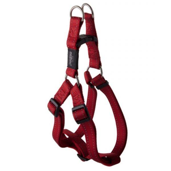 Rogz classic harness red