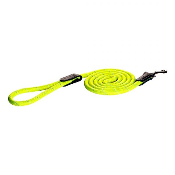 Rogz rope lead green